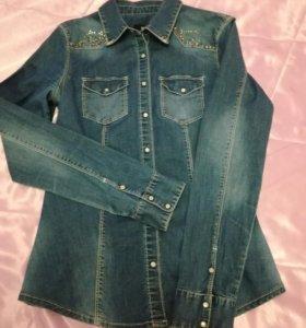 Рубашка джинсовая 42-44-46