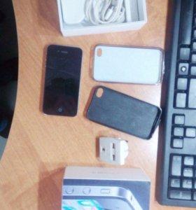iPhone 4 black 32gb