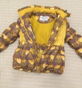 Зимний костюм для девочки Bilemi