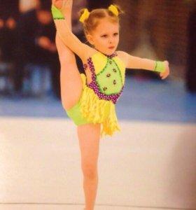 Купальник для художественной гимнастики на рост 98