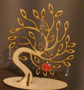 Дерево для украшений (новое)