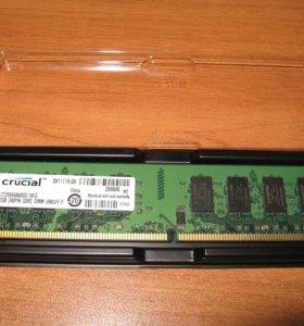 Оперативная память DDR2 Crucial 2 Gb 800 MHz
