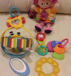 Пакет детских игрушек до года