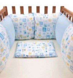 бортики-подушки новые