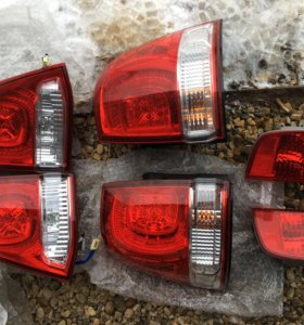 Комплект фонарей Toyota LC 200 дорестайл