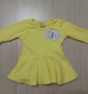 Совершенно новое платье на 9-12 месяцев