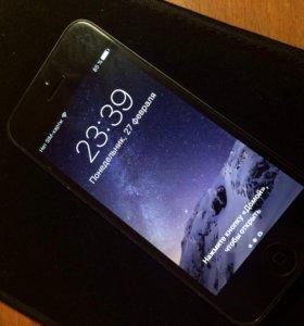 iPhone 5 16GB черный
