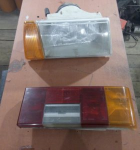 Фара передняя и задний фонарь