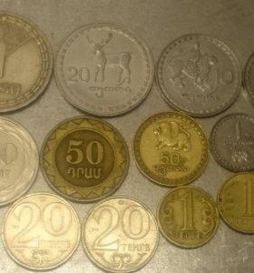 Монеты стран СНГ