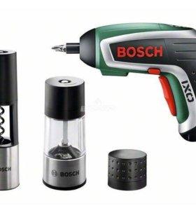 Аккумуляторная отвёртка Bosch IXO Gourmet