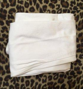 Джинсы брюки белые женские