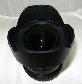 Samyang Canon MF 14mm T3.1 ED AS UMC б/у