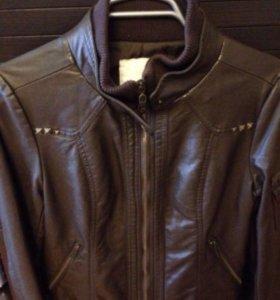 Натуральная Кожаная курточка ( новая )