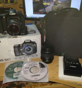 Canon eos 60d c 2 объективами