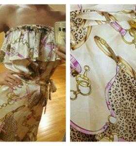 Летнее платье gucci