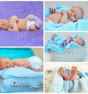 Фотосессию новорожденных