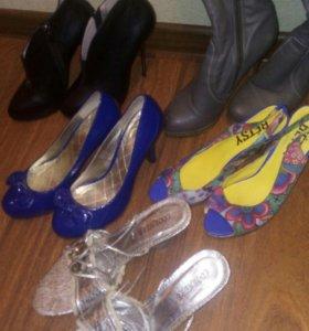 Женская обувь (разная)