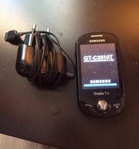 Телефон Samsung mobile с телевизором