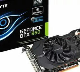 Gigabyte GeForce GTX 960 4gb WindForce 2X