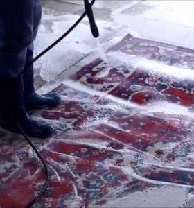 Чистка ковров , ковровых дорожек