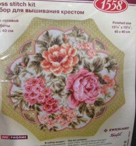 Набор для вышивания подушки, риолис
