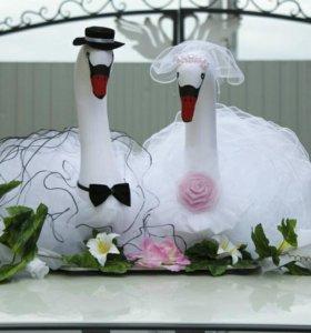 Аренда свадебных украшений на авто, изготовление