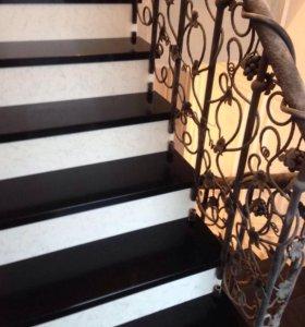 Лестницы и другие изделия из кварца.