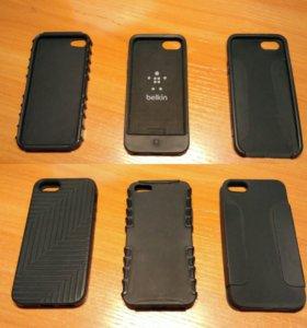 Чехлы силиконовые для iPhone 5/5s