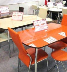 Столы цветные