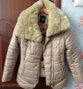 Куртка пух осень-зима 42 р-р