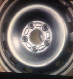 Диск колеса штамповка R15 4 шт