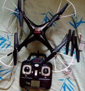 Квадрокоптер с камерой  Syma x5 sw