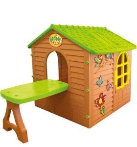 Домик игровой детский со столиком