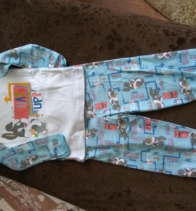 Пижама Baby looney tunes 92 размер