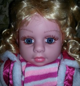 Мягкая говорящая кукла