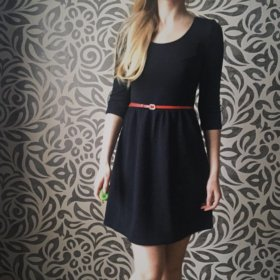 Чёрное платье из Bershke