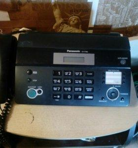 Факс и телефон