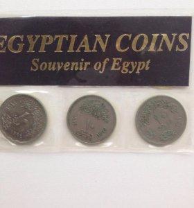 Монеты Египет.