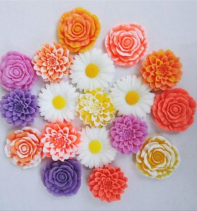 Мыло цветы