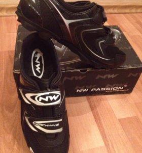 Велосипедные туфли Northwave Spike Black