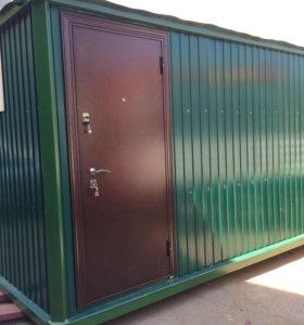 Бытовки и блок контейнеры для прорабский и офис
