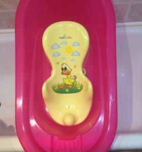 Детская ванночка, горка