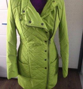 Новое пальто плащ