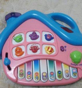 Игрушки.Пианино детское