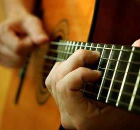 Гитара и электро-гитара