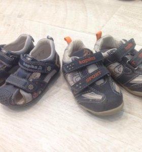 Ортопедические сандали и кроссовки Kapika
