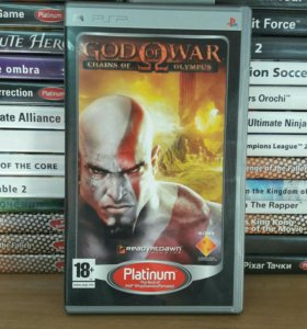 God of War Chains Sony Playstation Portable PSP