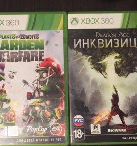 Диски на Xbox 360 ( цена за два диска)