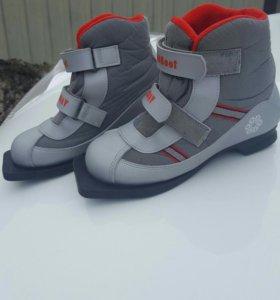Детские лыжные ботинки