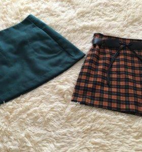 Продам юбки из тонкого драпа размер 42-44